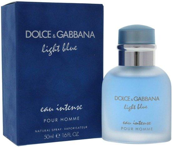 9b58b24753303d Dolce   Gabbana Light Blue Eau Intense Pour Homme - 50 ml - Eau de Parfum