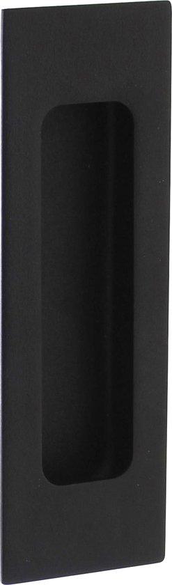 Intersteel Schuifdeurkom 120 x 40 mm mat zwart