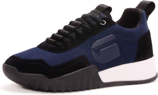 blauwe dames schoen