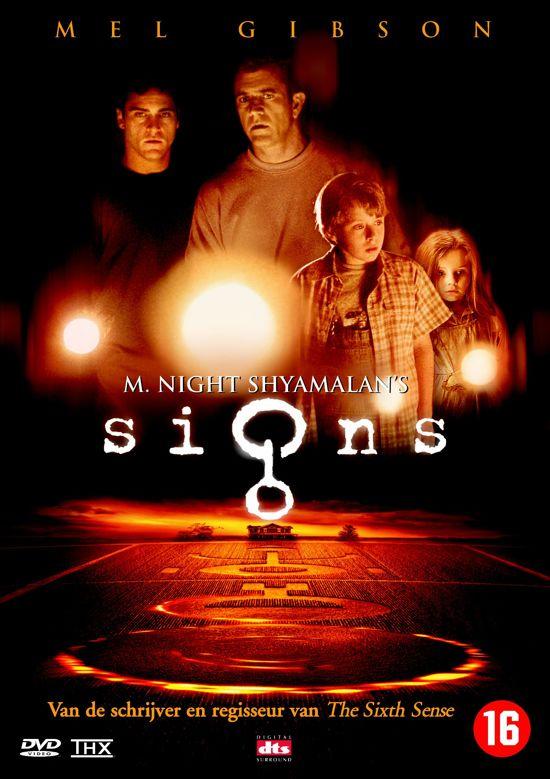 DVD cover van Signs