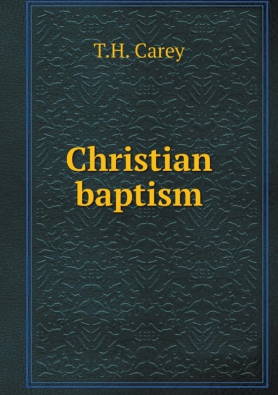 an analysis of the baptism in christianity The meaning of christian baptism view series / lauren berg these last words of jesus are marching orders for his followers, and they reveal the central importance.