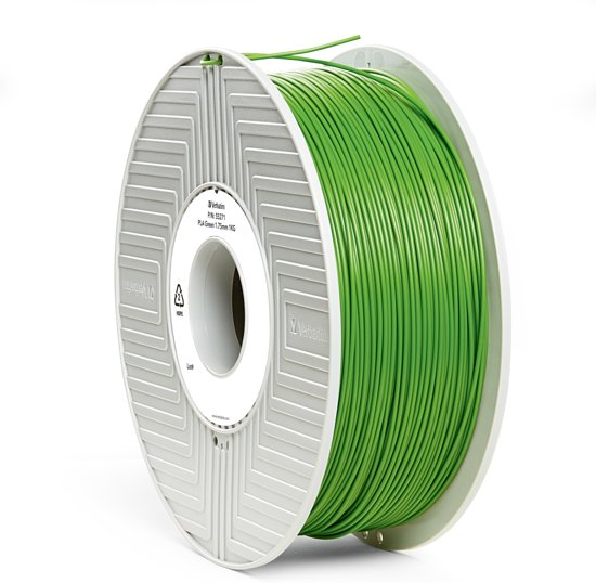 Verbatim 55271 3D Printer Filament PLA 1.75mm 1kg Groen