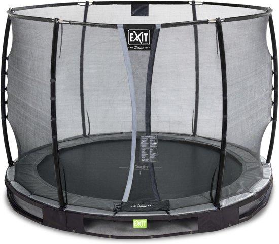 EXIT Elegant Premium Inground Trampoline à 305 cm met Deluxe Veiligheidsnet