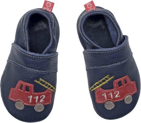 Paul Et Anna Babyslofjes Pompier Minuit Maat: M (13,3 Cm)