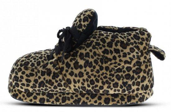 Dames sneaker sloffen luipaard bruin M (37-38,5)