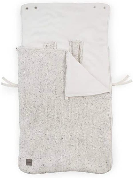 Comfortbag groep 0+ 3/5 punts Confetti knit natural