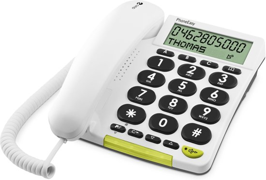 Doro PhoneEasy 312CS telefoon - Wit
