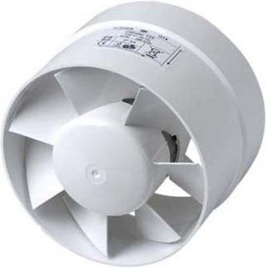 Vent,105M3 Ø100Mm Plieger-Cilinder Wit
