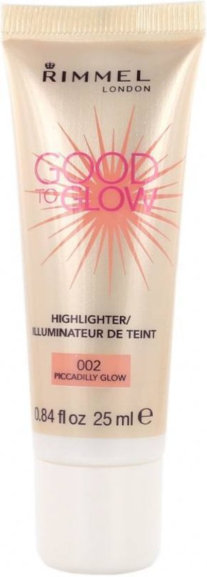 Rimmel London Good To Glow Highlighter - 002 Piccadilly Glow