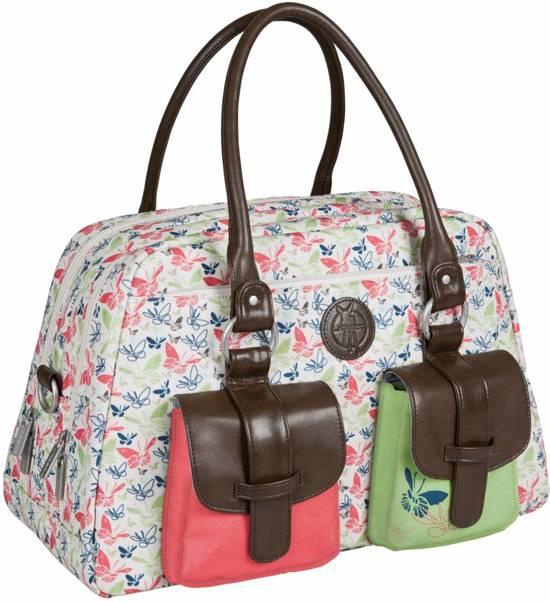 Lassig luiertas Metro Bag Butterfly Spring Metro Bag Butterfly Spring