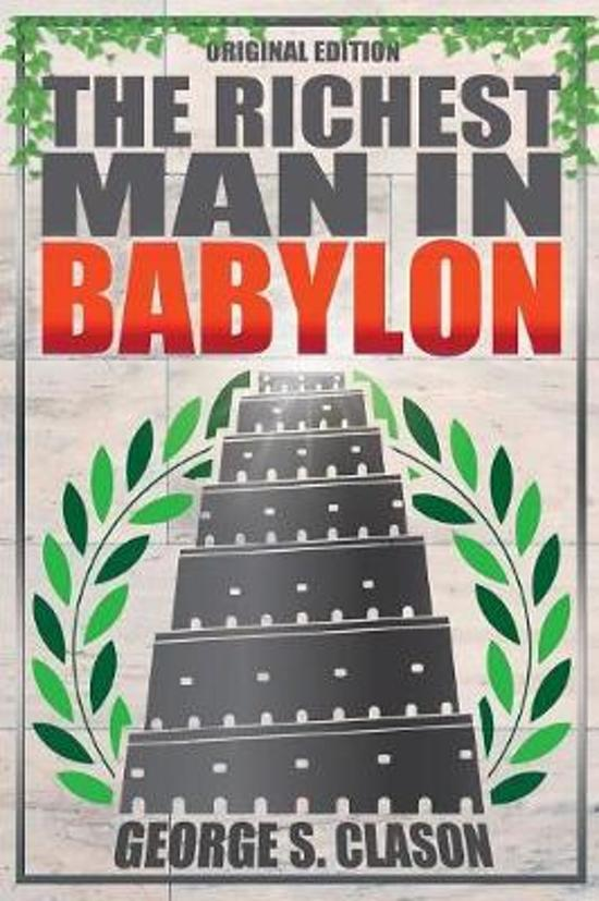 Boek cover The Richest Man in Babylon - Original Edition van George S Clason (Paperback)