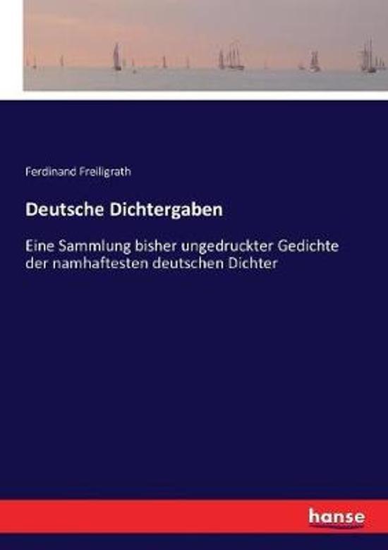 Deutsche Dichtergaben