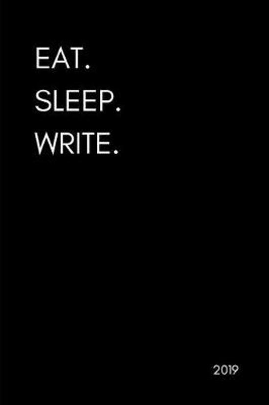 Eat. Sleep. Write 2019