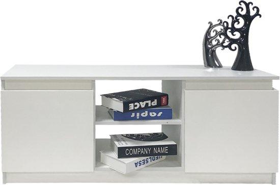 TV kast dressoir wit 120 cm breed