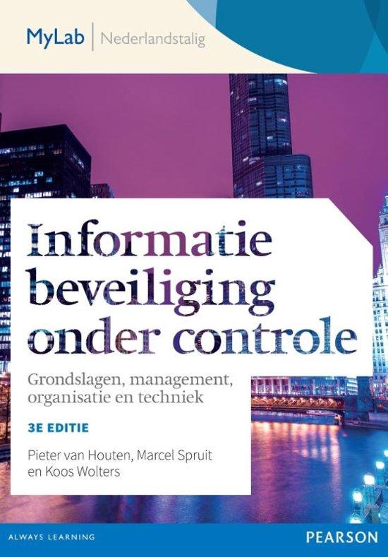 Informatiebeveiliging onder controle 3e editie toegangscode MyLab NL