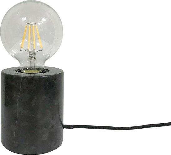 Table lamp Bar marble black