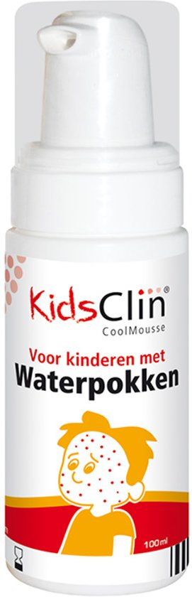 KidsClin waterpokkenschuim mousse - 100 ml