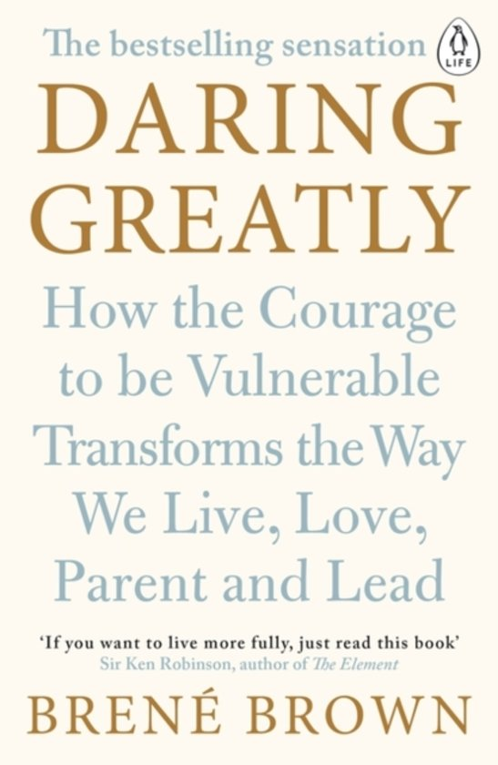 Boek cover Daring Greatly van Brené Brown (Paperback)