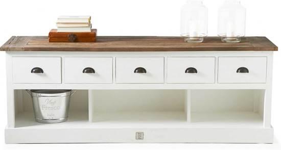 Riviera Maison Stijl Tv Meubel.Riviera Maison Newport Flatscreen Dresser Tv Meubel 180 Cm Wit Hout