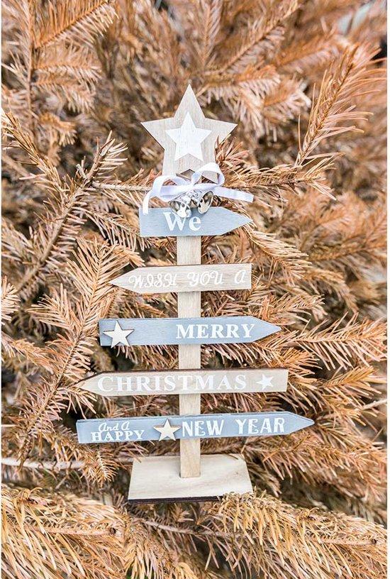 Cosy&Trendy Alternatieve kerst versiering - 21x35 cm