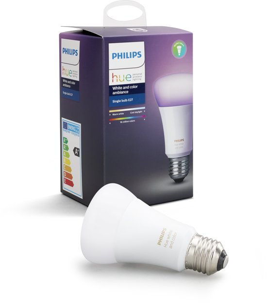Philips Hue White and Color Ambiance lamp - E27 - 1-pack