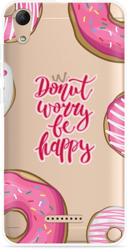 Wiko Lenny 4 Hoesje Donut Worry