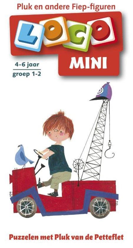 Boek cover Loco Mini / Puzzelen met Pluk van de Petteflet van Onbekend (Paperback)