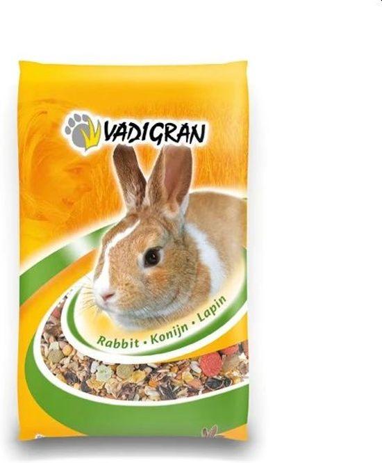 Vadigran Tasty Gemengd Konijnenvoer - Konijn - Droogvoer - 20 kg