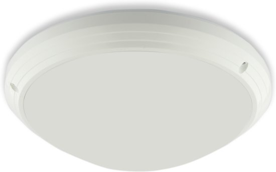 LED Plafondlamp 15W, Rond 26cm, Waterdicht IP54, Sensor
