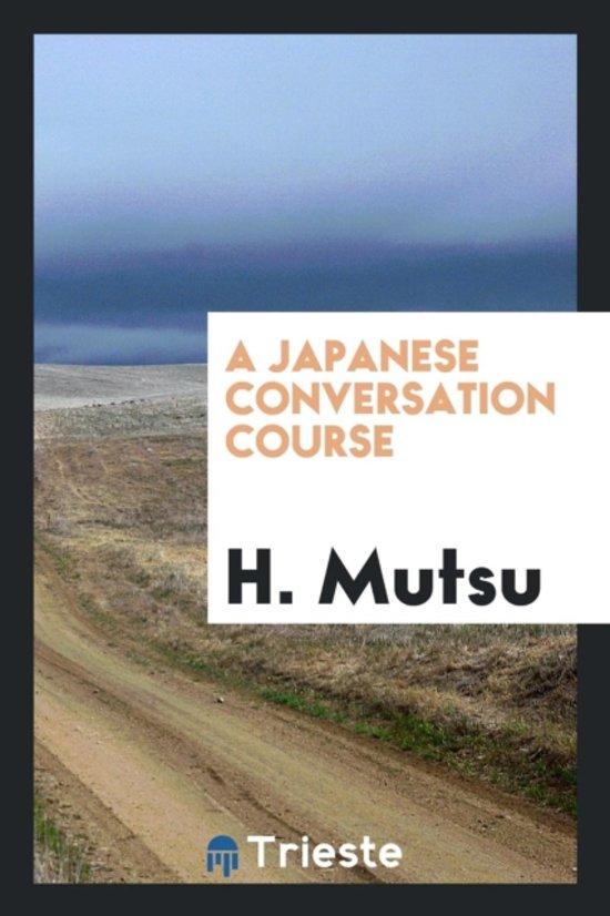 A Japanese Conversation Course
