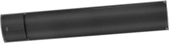 Eurom Terrasverwarmer Outdoor Heatpanel RC 1800 W zwart 333930