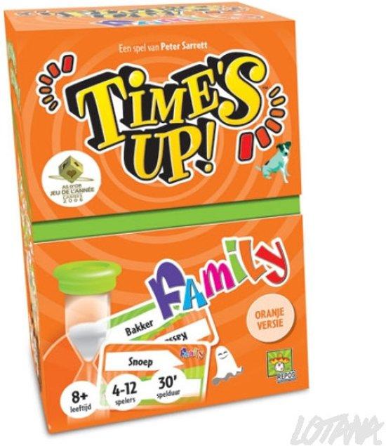Time's Up! Belgische Versie Family (oranje)