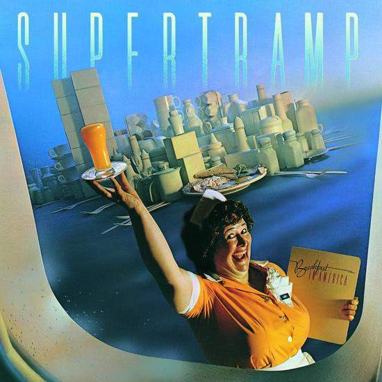 CD cover van Breakfast In America (2010 Remaster van Supertramp