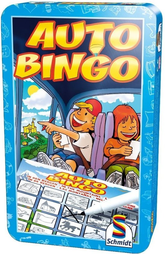 Auto-Bingo - Tin Box