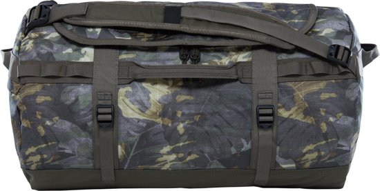 The North Face Base Camp Duffel Reistas S - 50 L - English Green Tropical Camo / New Taupe Green