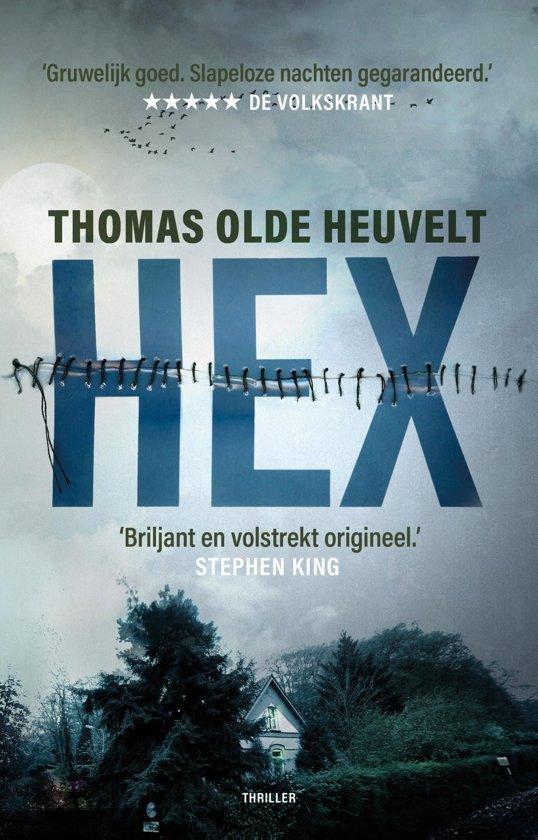 Boek cover HEX van Thomas Olde Heuvelt (Onbekend)