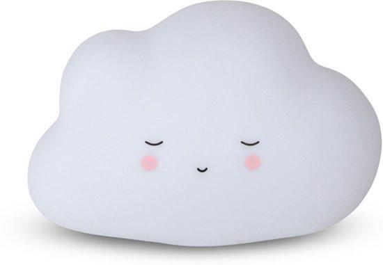Lamp Kinderkamer Wit : Bol wolken lampje kinderkamer versieren led