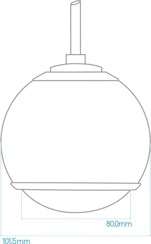 Gallo Acoustics Micro Droplet - Hangende Speaker - Rood