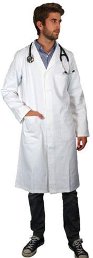 Unisex model laboratoriumjas, 100% katoen Maat L