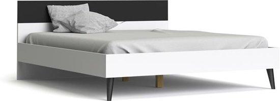 Tweepersoonsbed Beter Bed.Bol Com Napoli Tweepersoonsbed 180x200 Cm Zwart Wit