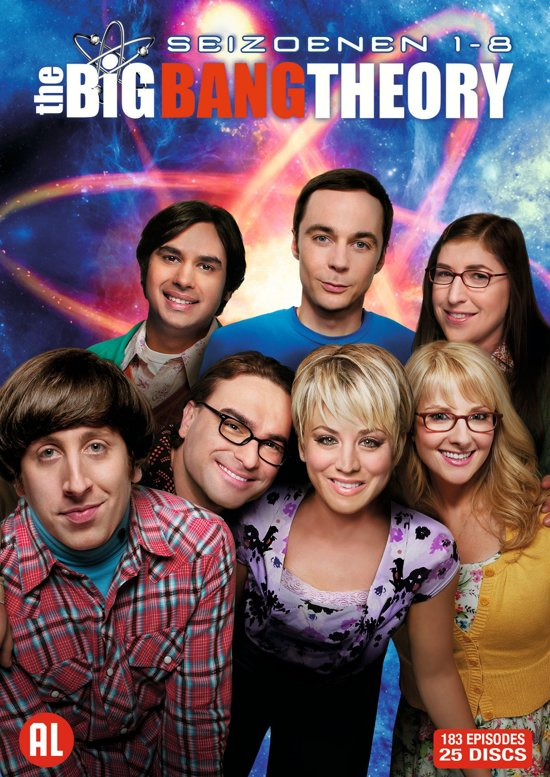 Bolcom The Big Bang Theory Seizoen 1 Tm 8 Dvd Kunal Nayyar