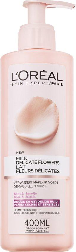 L'Oréal Paris Delicate Flowers Reinigingsmelk - Droge en Gevoelige Huid