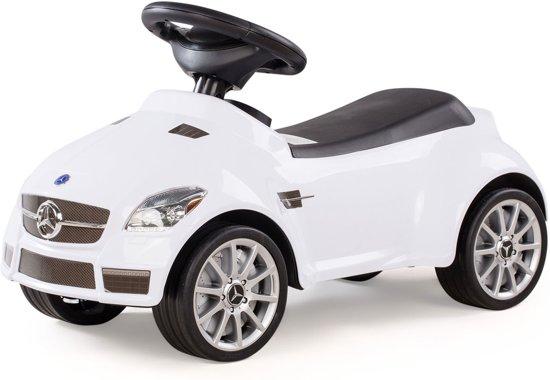 Bol Com Mercedes Slk 55 Amg Loopauto Wit Rastar Speelgoed