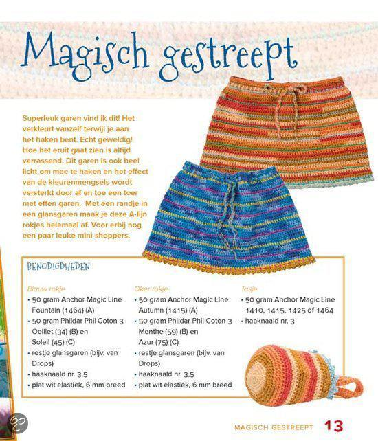 Bolcom Rokjes Haken Renee Van Der Velden Stroo 9789462500457