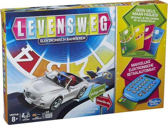 Afbeelding van Levensweg Elektronisch Bankieren - Bordspel speelgoed