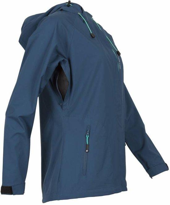 line Life Dames Hooded Ladies Jacket Servina Maat Blauw Softshell 40 fPwqdPRWxB
