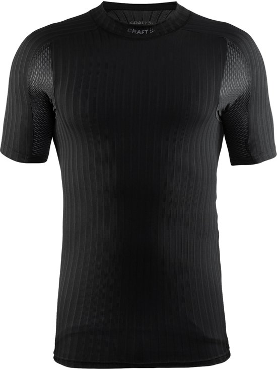 Craft active extreme 2.0 cn ss m - Sportshirt - Heren - Black - XL