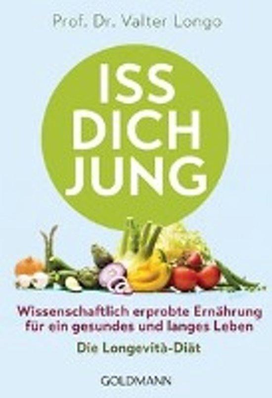 Boek cover Iss dich jung van Longo, Valter (Paperback)