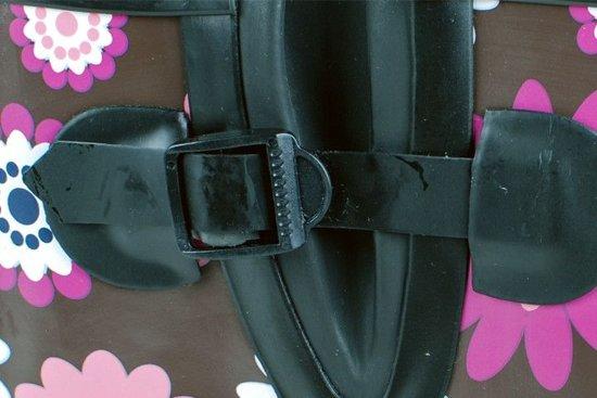 Boots Jade Rubber Dameslaars bruin Roze Gevavi 6xOzO