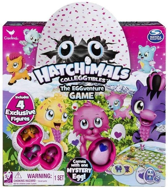 Hatchimals - Eggventure Game - Gezelschapsspel